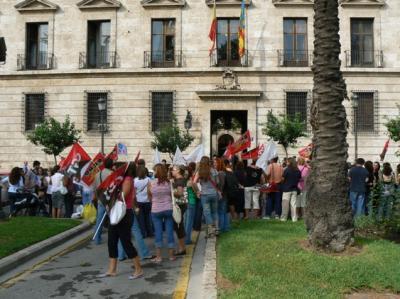 Manifestación en Valencia
